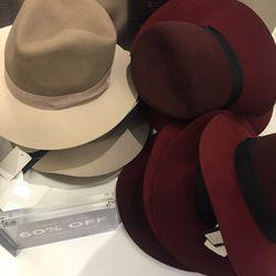 Rag & Bone hats, $295