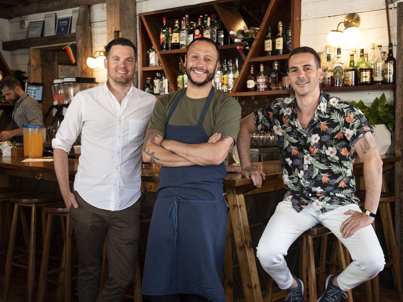 Sunday Hospitality's Jaime Young, Adam Landsman, Todd Enany