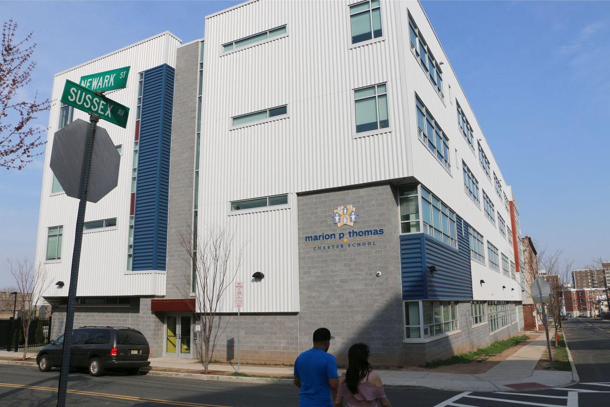 Marion P. Thomas Charter School, in Newark, New Jersey.