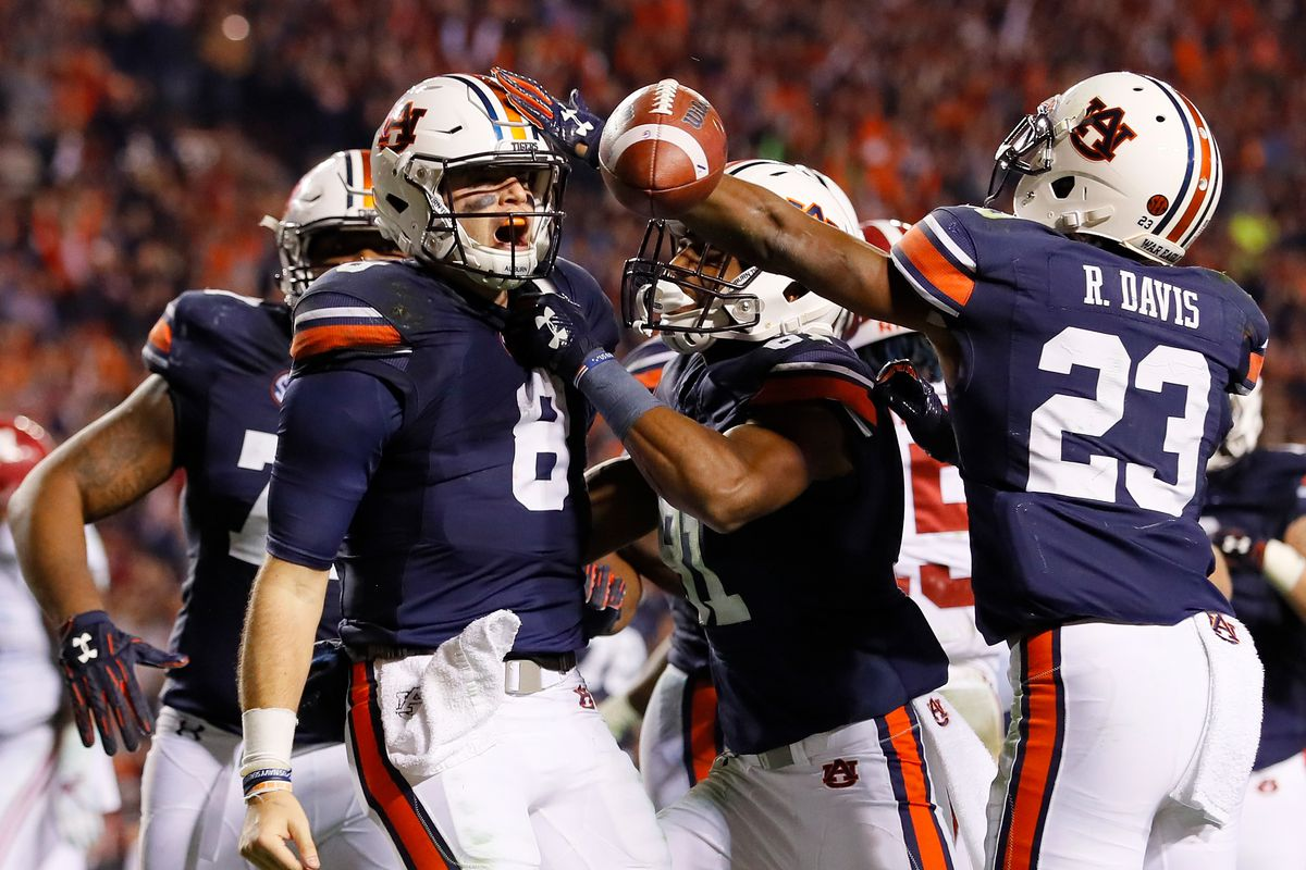 Image result for auburn wins 2017 iron bowl