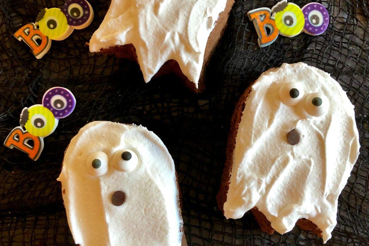 Menu planner: Halloween ghost brownies are more tasty than creepy
