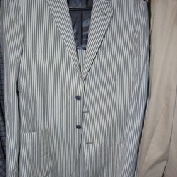 Paletti seersucker sportscoat, $449