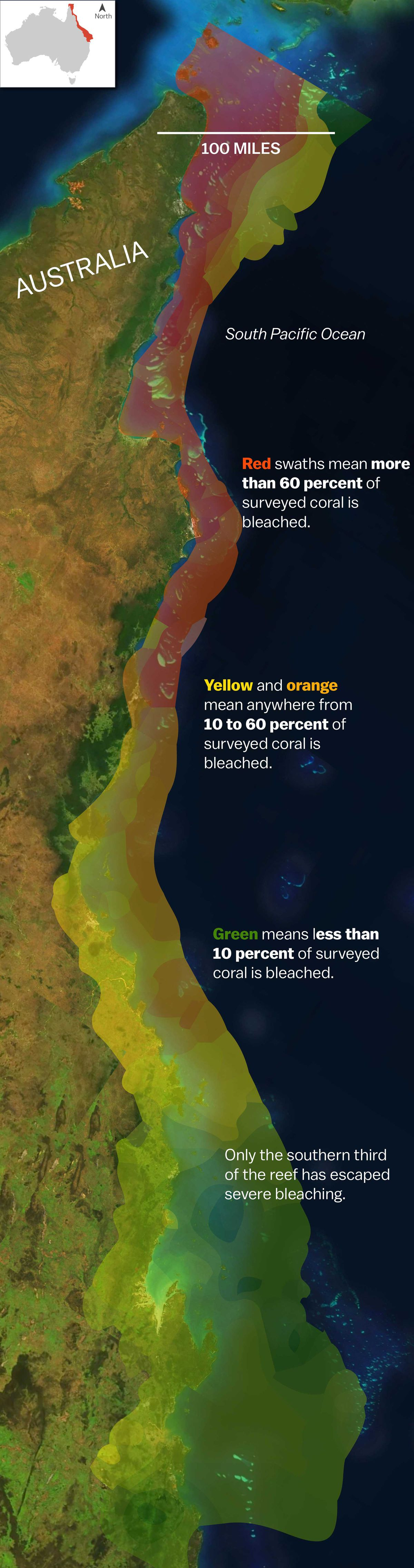 Barrier Reef Australia Map.Experts The Great Barrier Reef Cannot Be Saved Vox