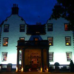 Prestonfield House, our hotel in Edinburgh.