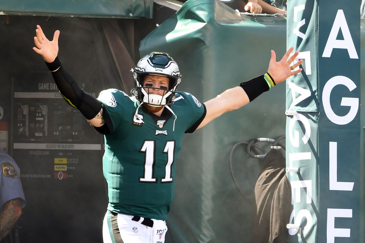 brand new c4faf bb448 Eagles News: Carson Wentz is back - Bleeding Green Nation