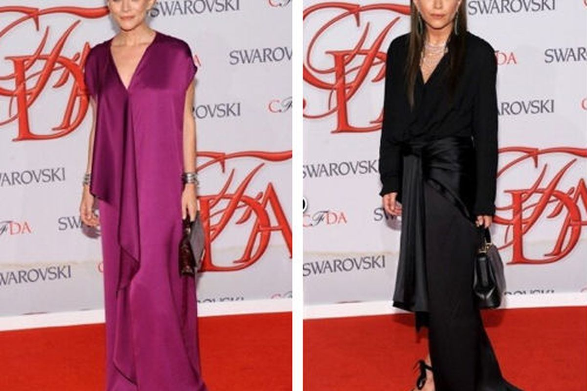Two reasons to relive the CFDA Awards, via Getty