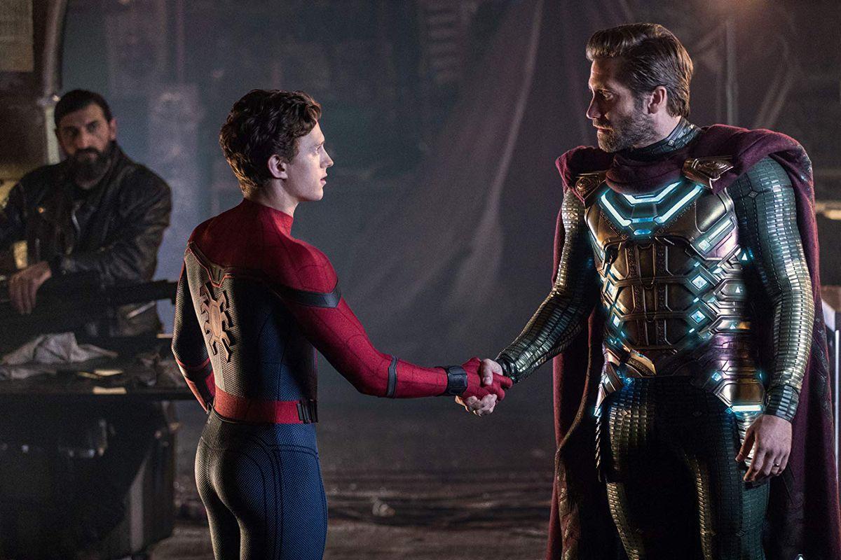 Peter Parker meets Msyterio