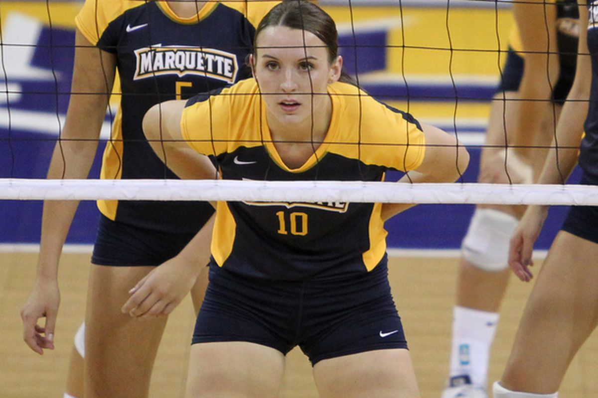 Kelsey Mattai was one of four seniors playing their last match in the blue and gold.