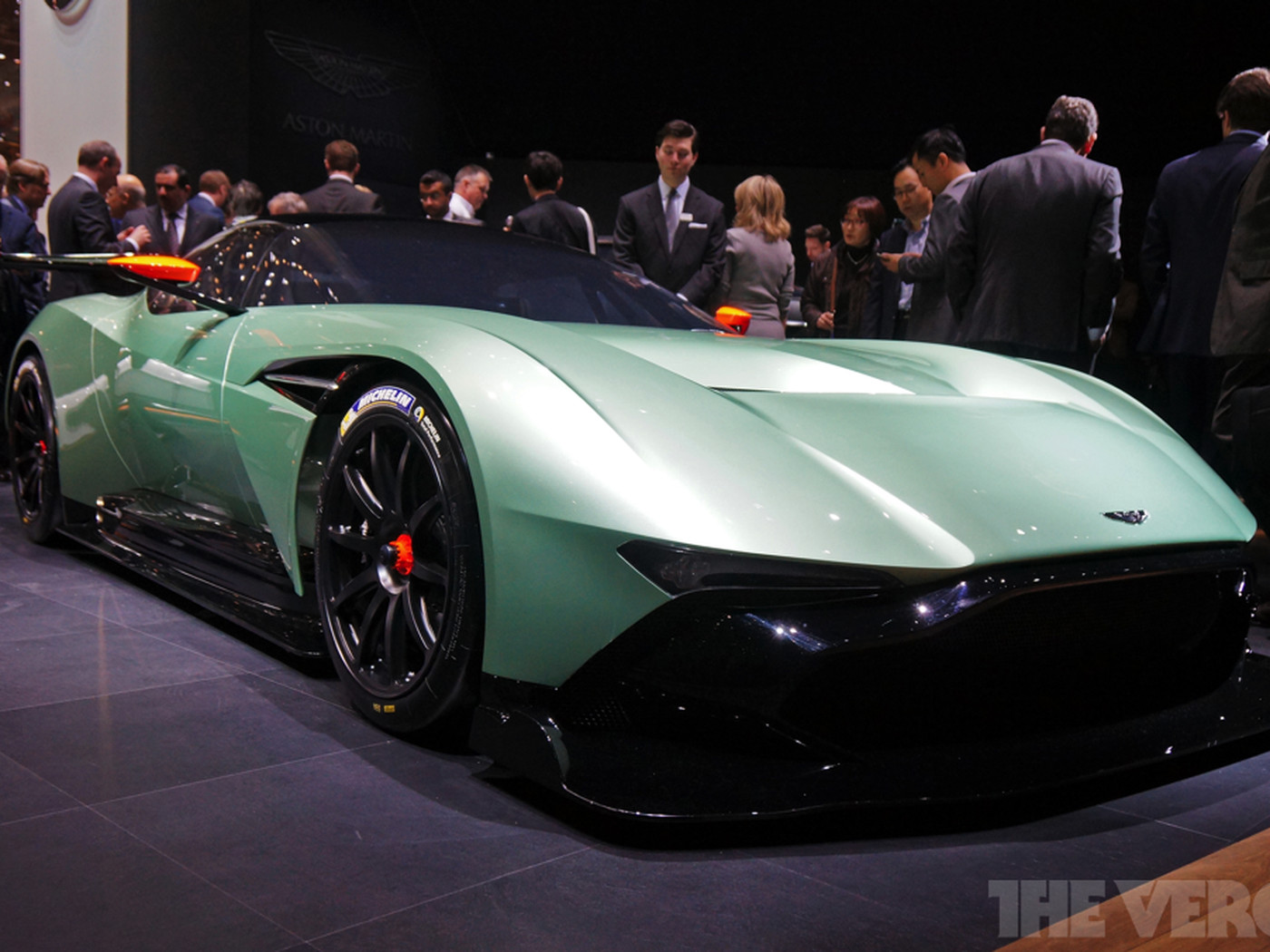 Your 2 3 Million Aston Martin Vulcan Can Be Made Street Legal For A Little Extra Cash The Verge