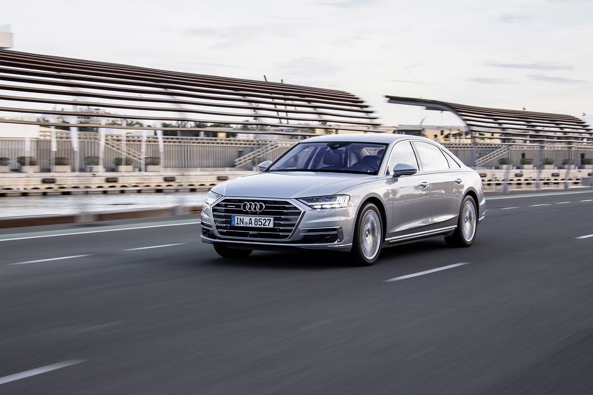 First Drive Audi A The Verge - Audi sedan series