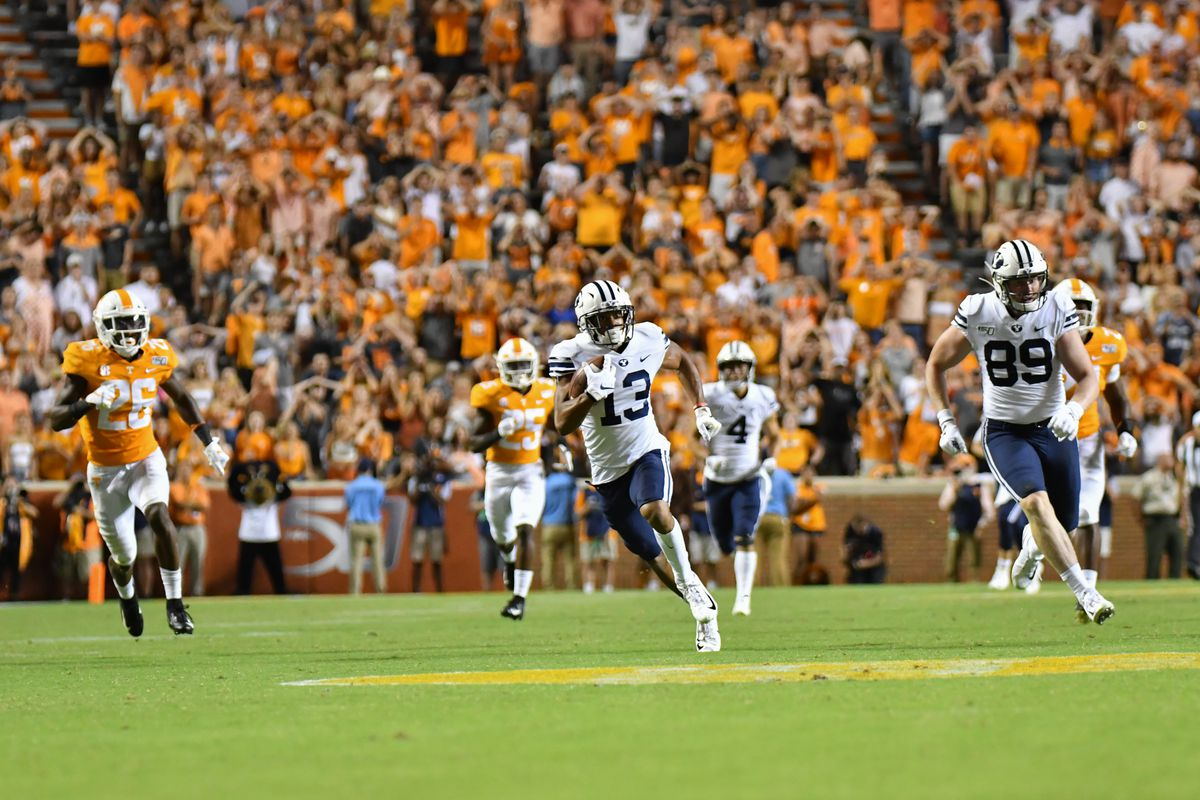 BYU Football tops Tennessee in double OT thriller ...
