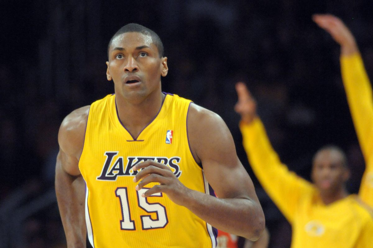 446fb5bbbe5 Lakers officially release Metta World Peace under amnesty provision ...
