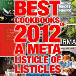 """<a href=""""http://eater.com/archives/2012/12/21/2012s-best-cookbooks-a-meta-listicle-of-listicles.php"""">2012's Best Cookbooks: A Meta Listicle of Listicles</a>"""