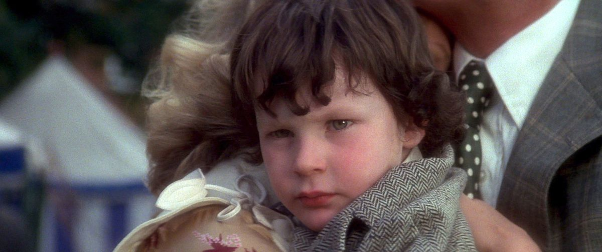 The Omen: Kid Damian stares down some people