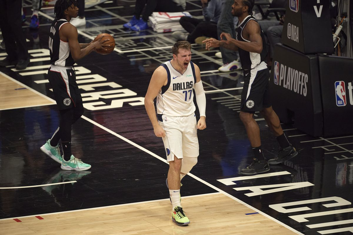 Los Angeles Clippers vs Dallas Mavericks, 2021 NBA Western Conference Playoffs First Round