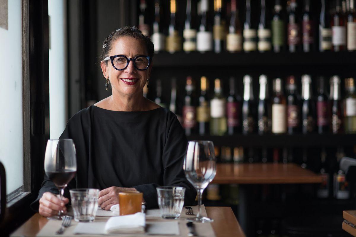 Nancy Silverton at Chi Spacca