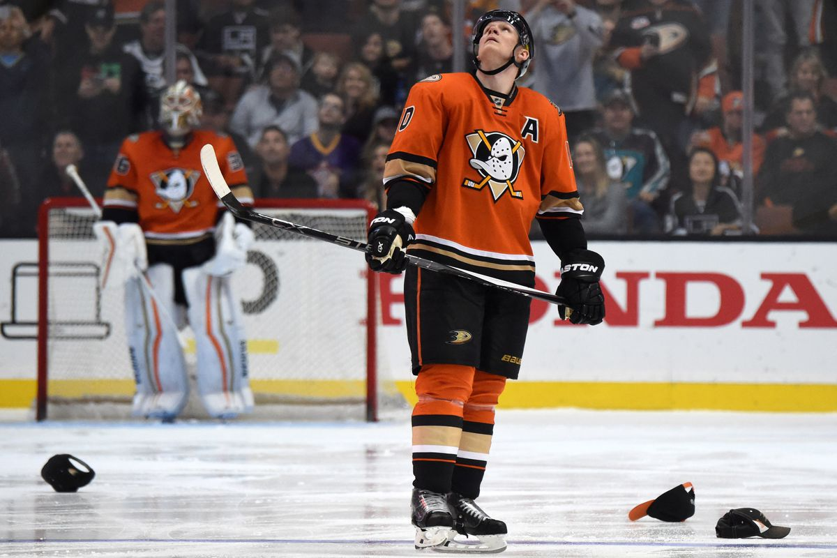 Ducks fans enjoyed watching Corey Perry's hat trick against Los Angeles as much as Perry.