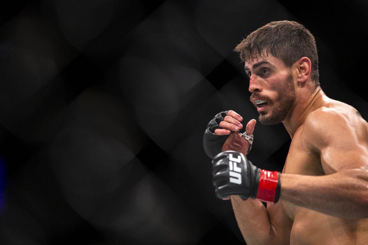 Antonio Carlos Junior fighting Ian Heinisch at UFC Fight Night: Rafael dos Anjos vs. Kevin Lee.