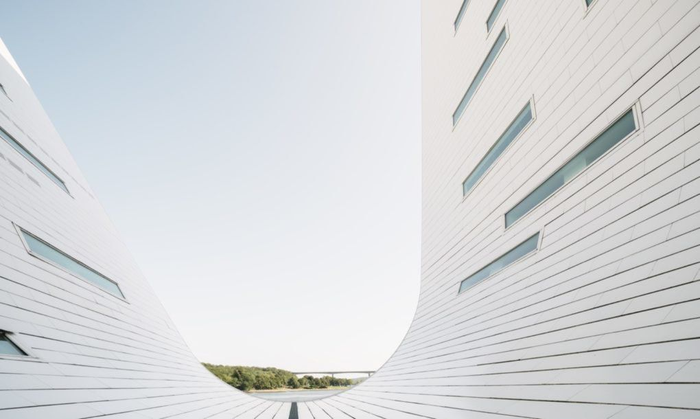 Henning Larsen wave building completed in Denmark - Curbed