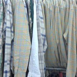 Plaid shirts, $20