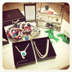 """<a href=""""http://www.jewelmint.com/"""" rel=""""nofollow"""">JewelMint</a> linked up with Satine (8134 W. 3rd) and offered a sweet deal on their Kate Bosworth-designed baubles: two pieces for $22.50, plus an additional 25% off, plus a free piece."""