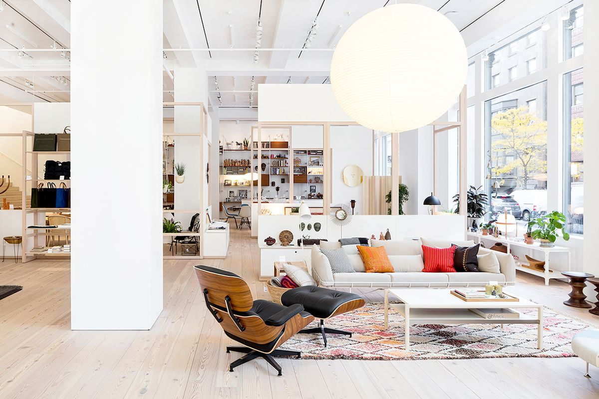 The Herman Miller flagship store in New York City. Courtesy of Herman  Miller Furniture Week