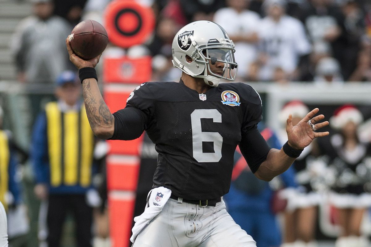 Terrelle Pryor sees his first action as an NFL player - Silver And Black Pride