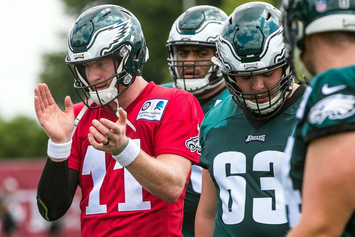 e11988094f7 Doug Pederson noncommittal on Carson Wentz starting for Eagles in Week 1