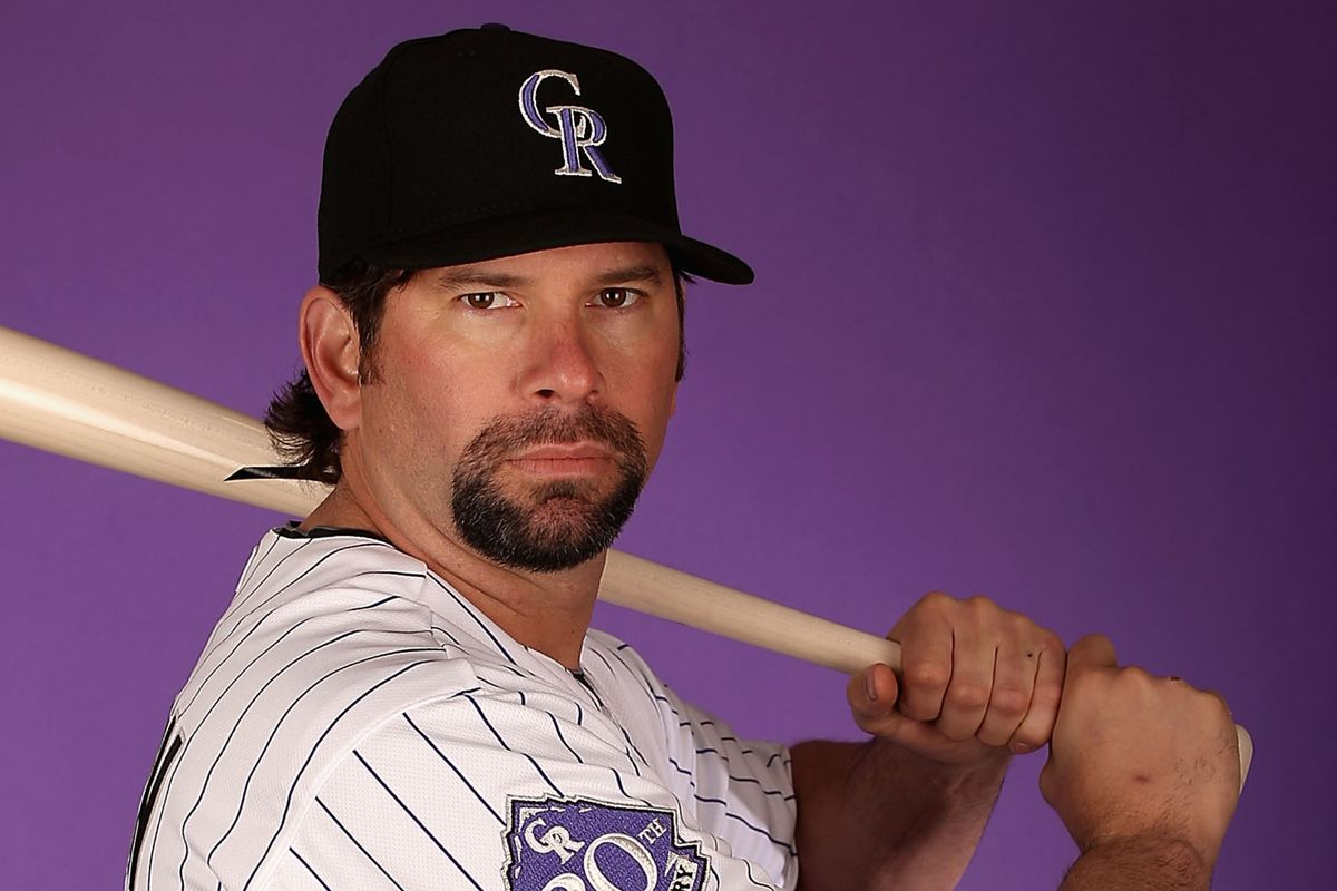 Todd Heltons' goatee has become a well known part of his persona.