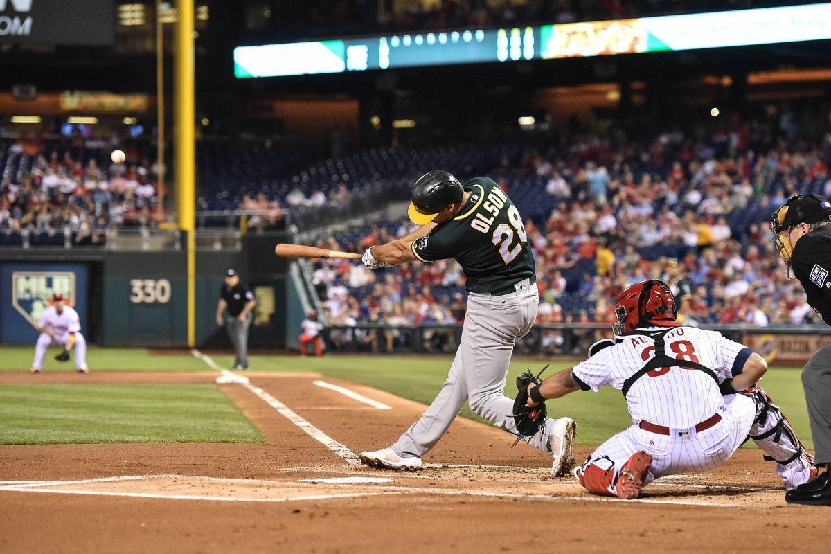 MLB: Oakland Athletics at Philadelphia Phillies