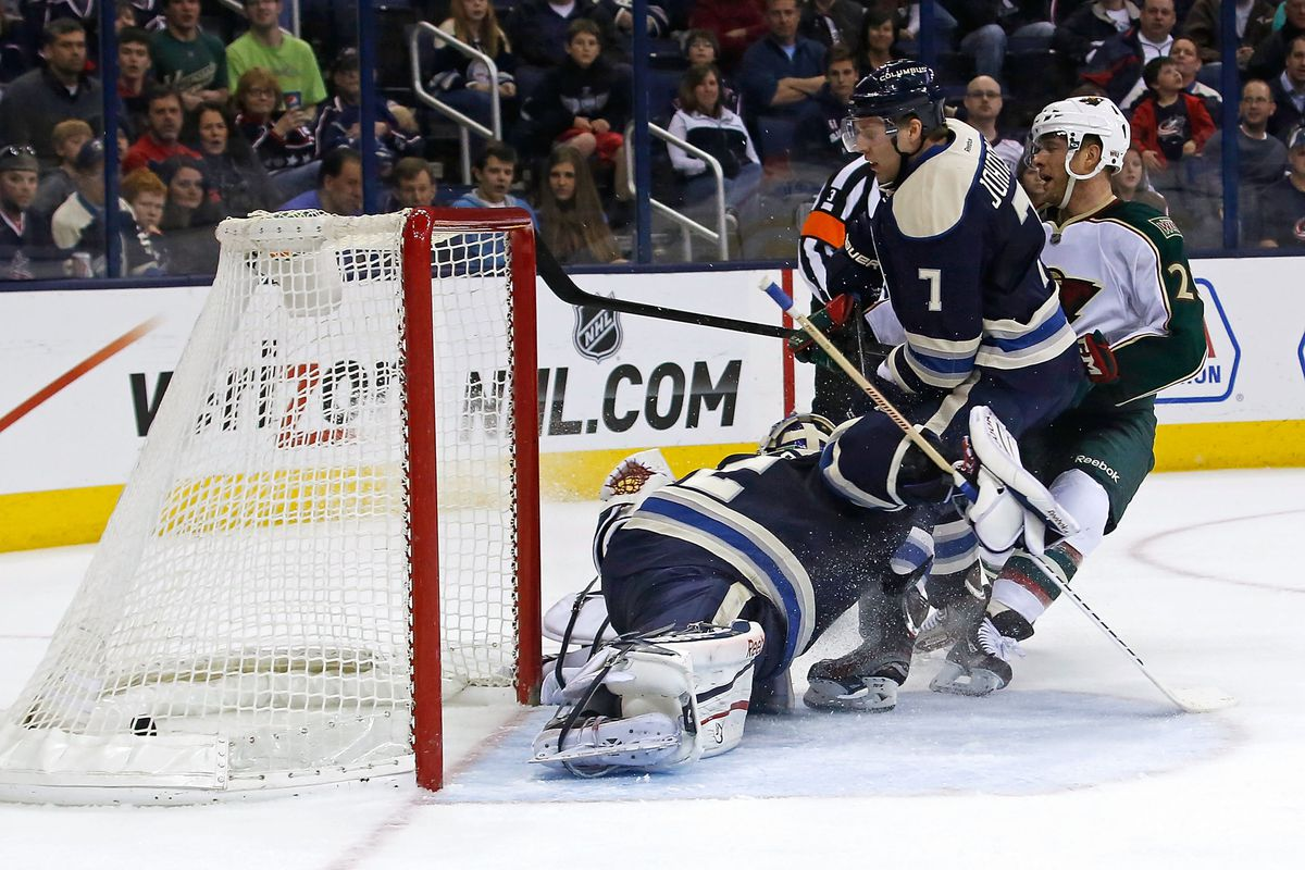 This goal by Jason Pominville helped the Wild make the playoffs. Will he be rewarded with an extension?