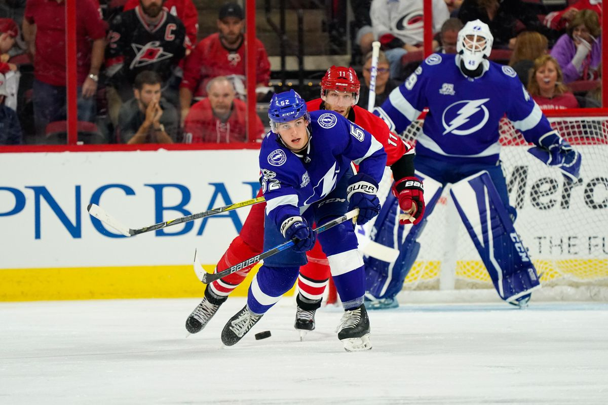 quick strikes lightning top pick cal foote scores in his first ahl