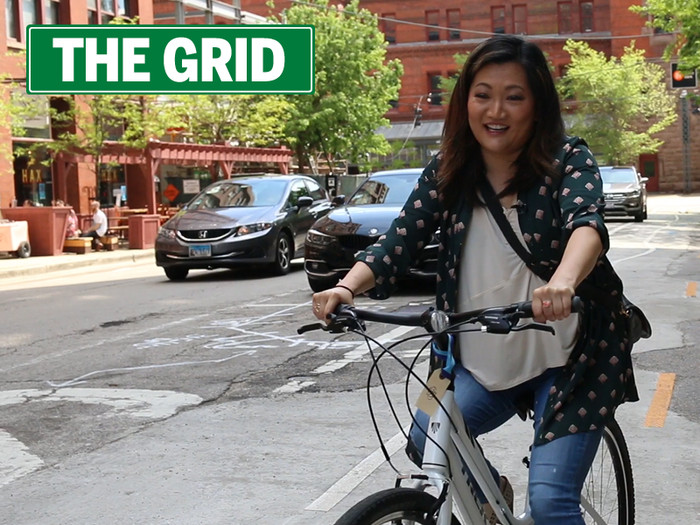 """Ji Suk Yi is the host of """"The Grid,"""" produced by the audience team at the Chicago Sun-Times and sponsored by Baird & Warner.   Brian Rich/For the Sun-Times"""
