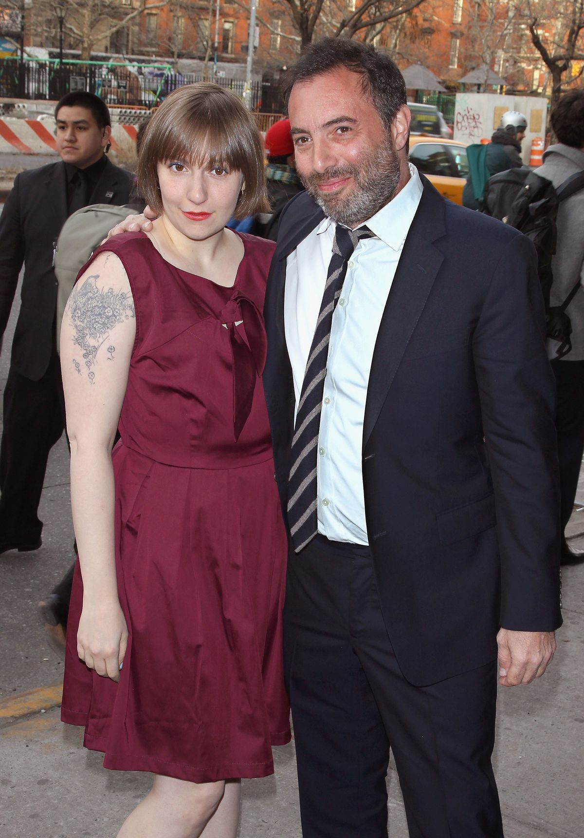 Lena Dunham and Richard Shepard (GettyImages)