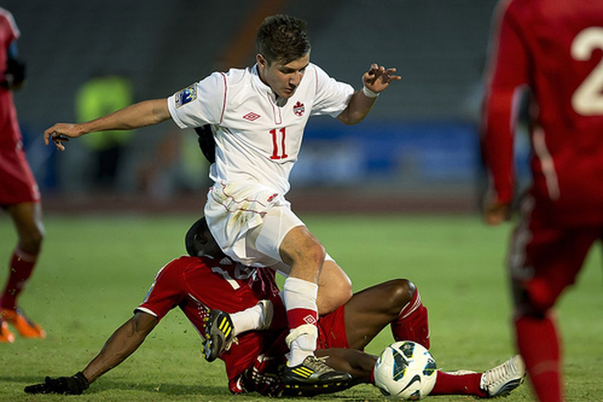 Michael Petrasso was one of Canada's top players in Spain