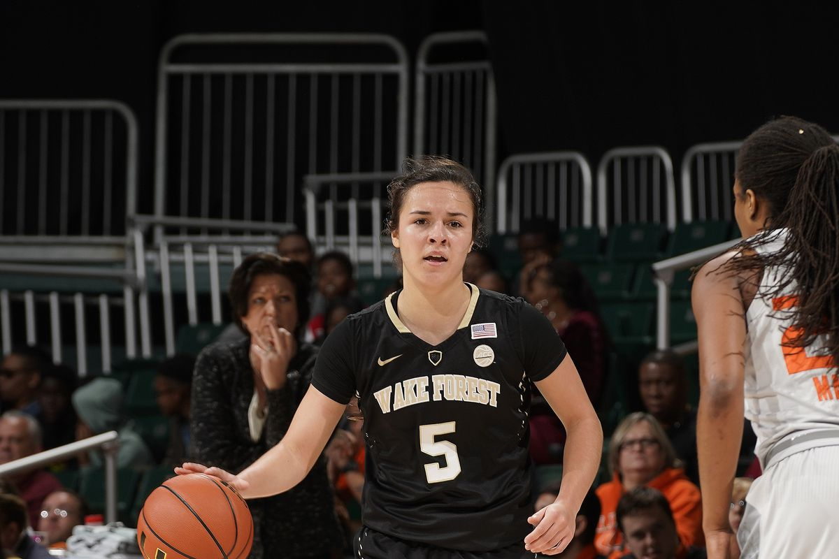 COLLEGE BASKETBALL: JAN 07 Women's - Wake Forest at Miami
