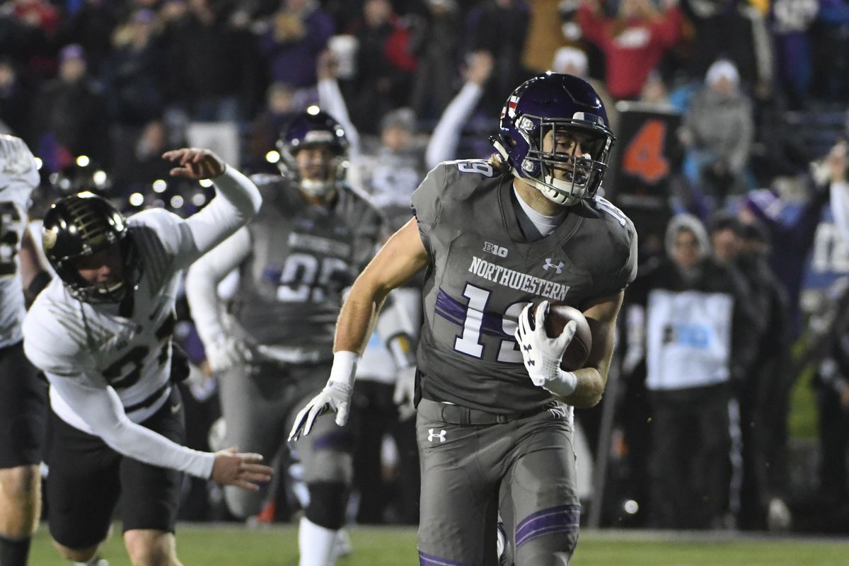 new concept caa94 f3e49 Northwestern 23, Purdue 13: Wildcats Dominate - Hammer and Rails