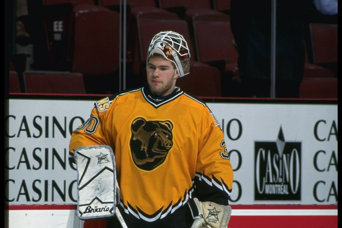 Are the Pooh jerseys nightmare fuel? (as modeled by Jim Carey)