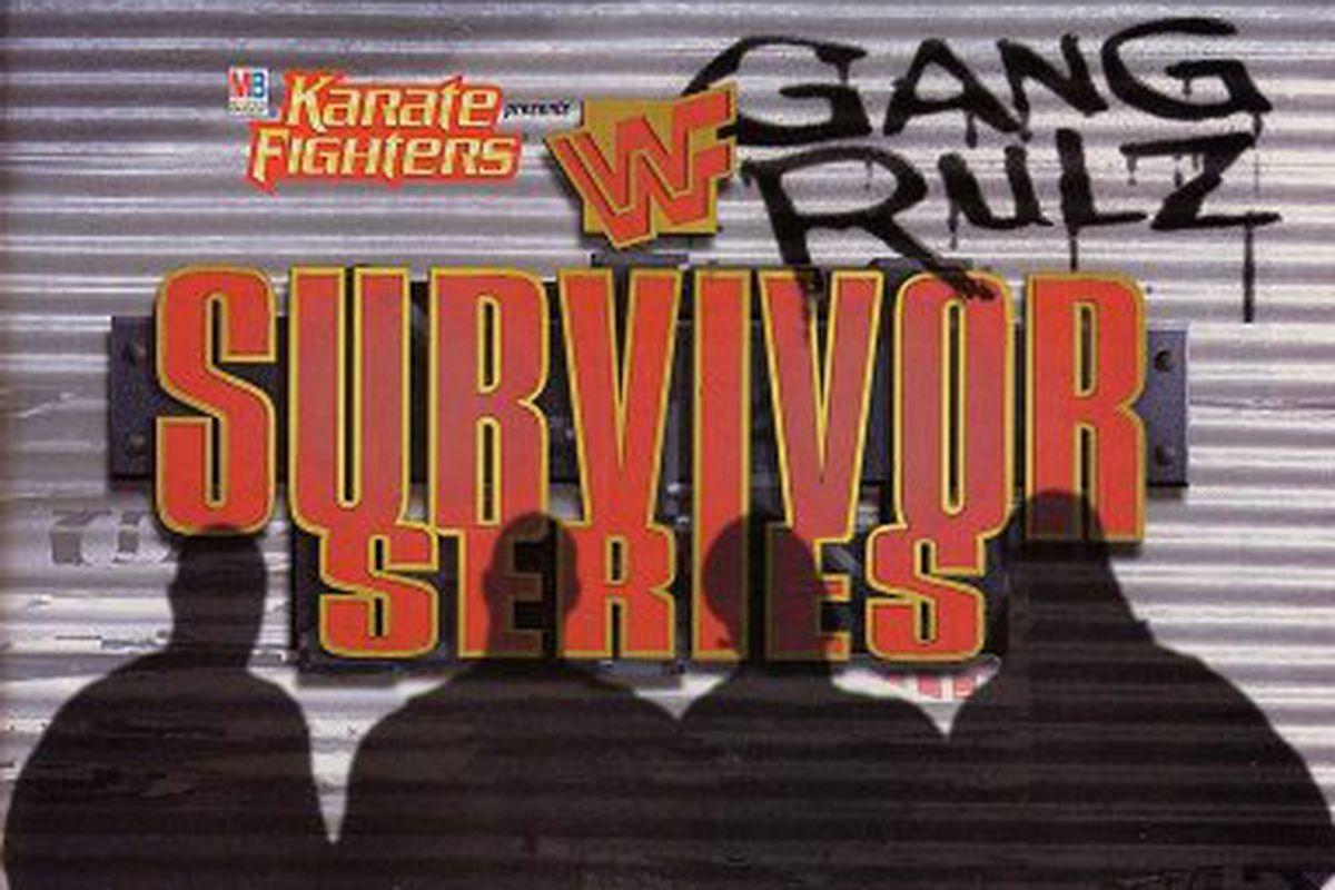 Image result for WWE survivor Series 1997 poster