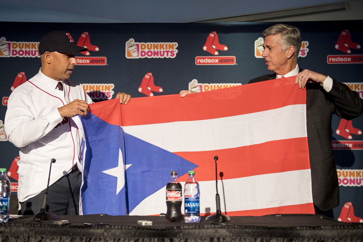 Boston Red Sox Introduce Alex Cora - News Conference