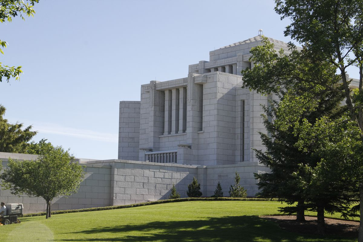 The Cardson Alberta Temple in 2012. Latter-day Saints in northern Montana have traveled there for years but will soon have a new temple in Helena, Montana.