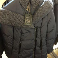 Troya puffer coat, $400 (was $570)