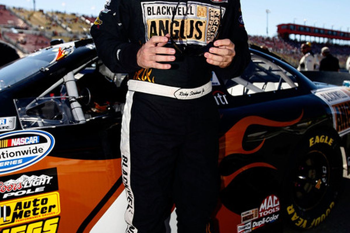 Ricky Stenhouse Jr. will be sponsored in at least 8 NASCAR Nationwide Series races by  Blackwell Angus.