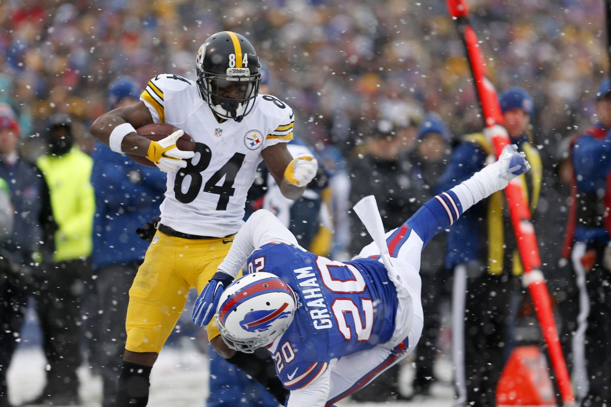 detailing 5a98e 7c192 What if Antonio Brown had been drafted by the Bills, not the ...