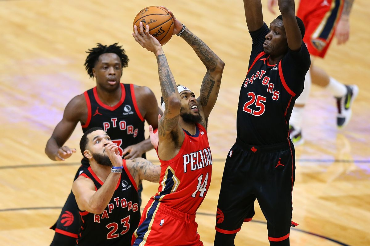 Pelicans ride Ingram, Bledsoe and staunch defense late to beat Raptors  120-116 in clutch minutes - The Bird Writes