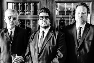 Billy Bob Thornton (from left), Teddy Andreadis and J.D. Andrew of the Boxmasters. | Rob Fenn