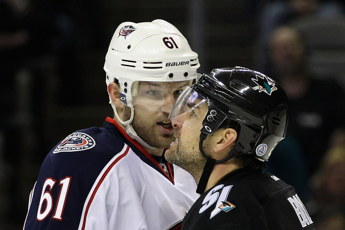 Rick Nash isn't happy. And he shouldn't be, either.  (Photo by Ezra Shaw/Getty Images)