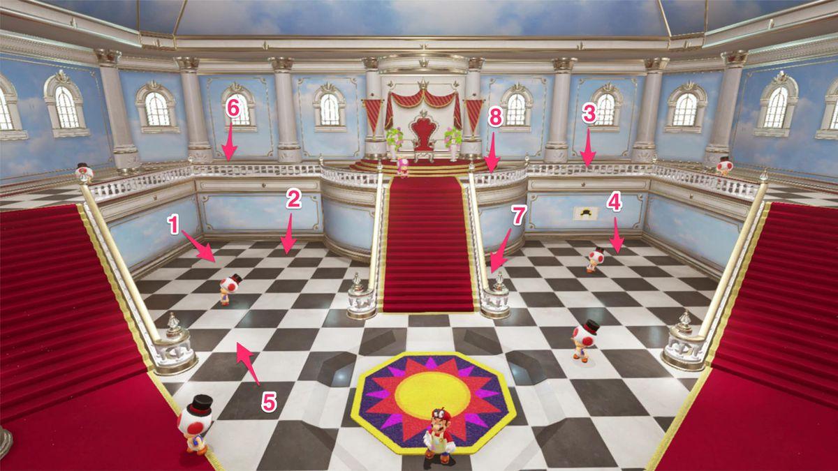 Super Mario Odyssey Guide Mushroom Kingdom All Power Moon