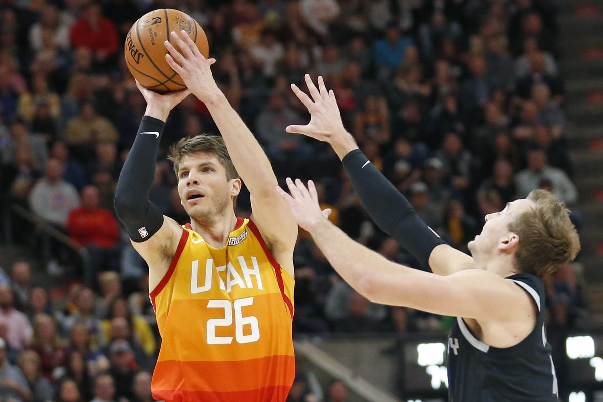pretty nice 6a91b e234d Utah Jazz's Kyle Korver still impacted by early influence of ...