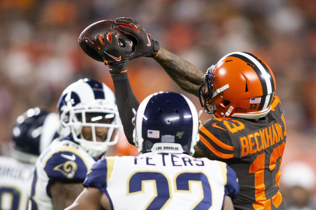 NFL: Los Angeles Rams at Cleveland Browns